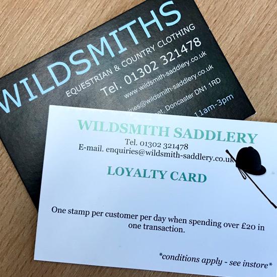 Offers wildsmith saddlery wildsmith saddlery loyalty card scheme reheart Gallery